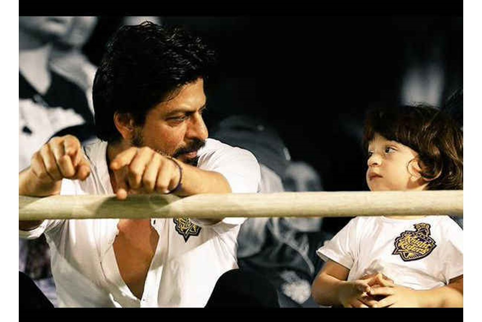 Shah Rukh Khan Abram In Hockey