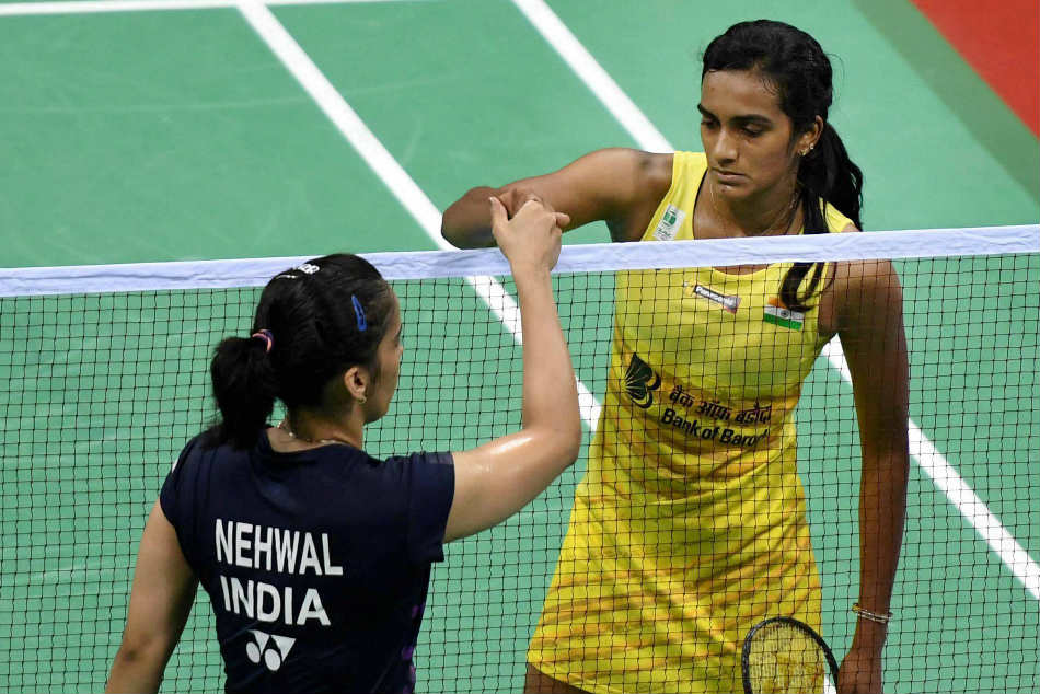 Saina Nehwal And Pv Sindhu Badminton