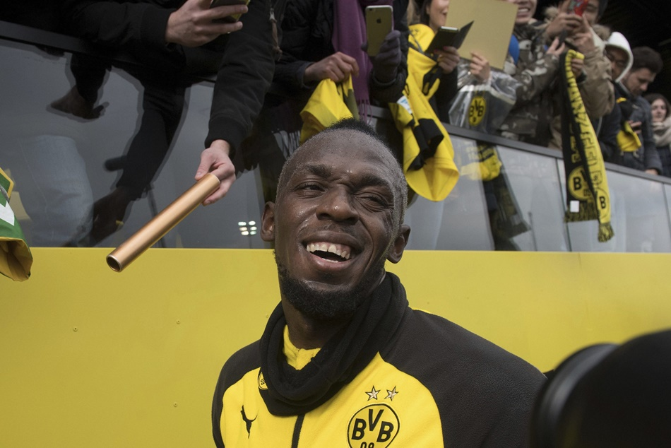 Usain Bolt Set Dortmund Return