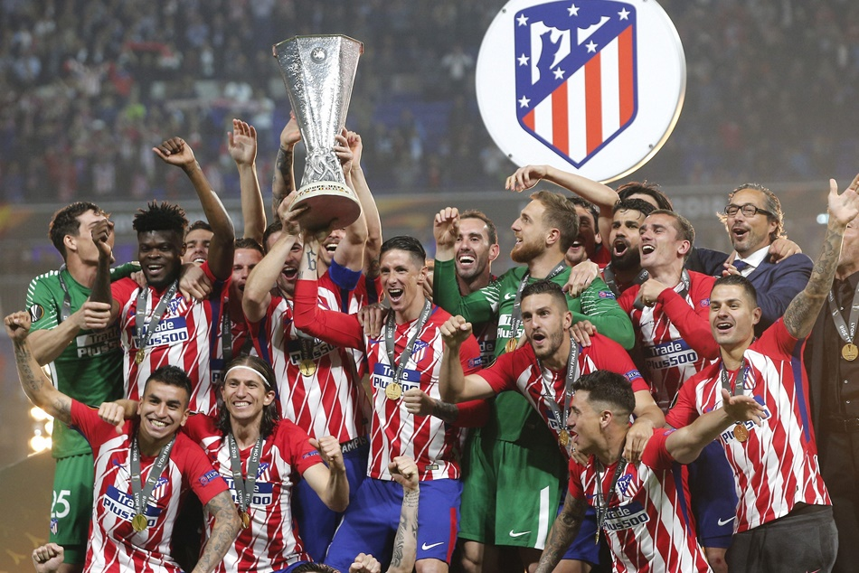 Atletico Won Europa League Final
