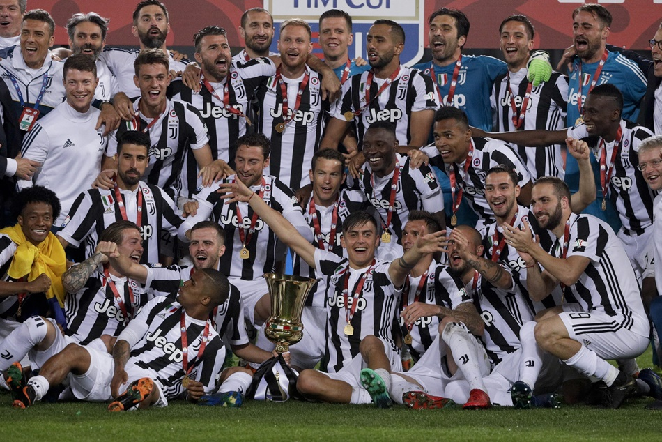 Juventus Have Won The Italian Cup