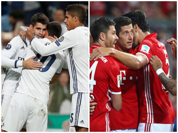 Real Madrid Vs Bayern Munich