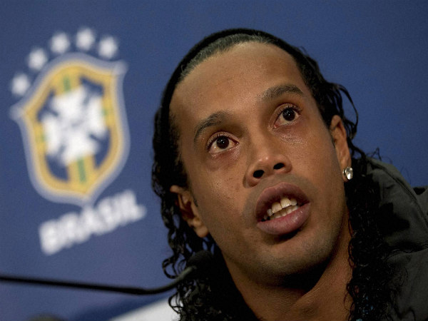 Brazilian Football Star Ronaldinho