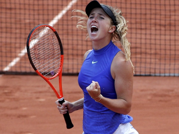 Svitolina Beats Simona Halep In Italian Open Final