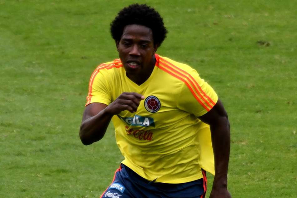World Cup Colombian Player Carlos Sanchez