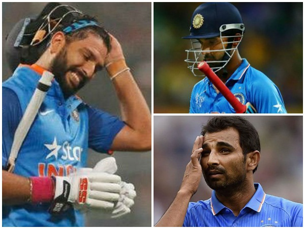 Players Who May Not Be A Part Of Indian Team In Next World Cup