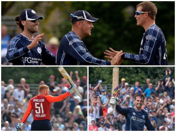 Scotland Beats England In One Day Match