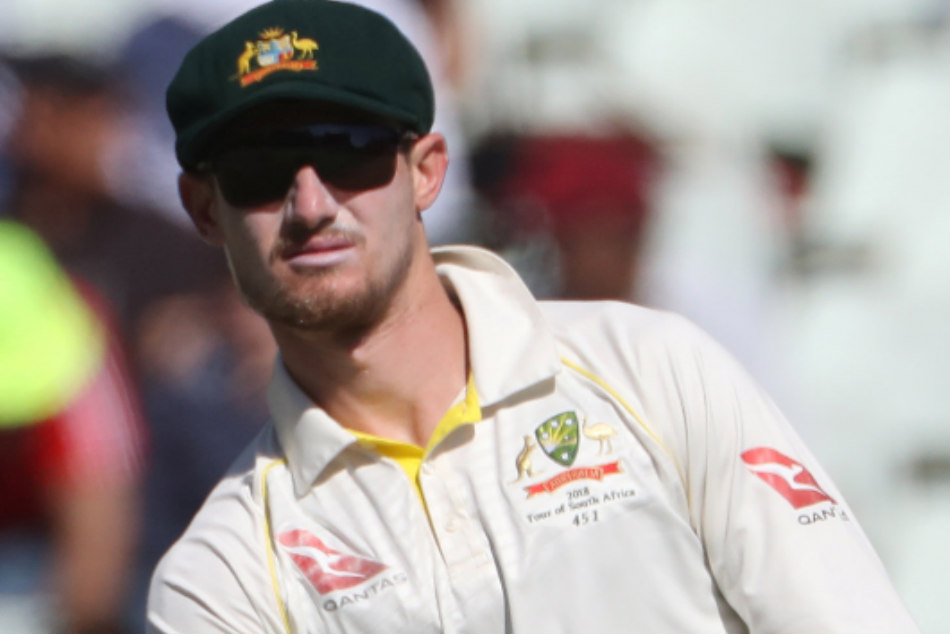 Cameron Bancroft Injury After Hit In Throat