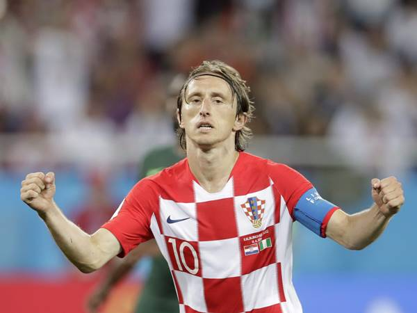 Luka Modric Win Golden Ball