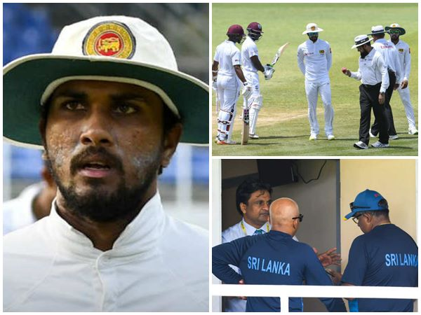 Lankan Cricket Team Captain Dinesh Chandimal Banned