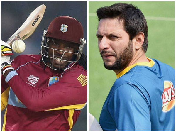 Chris Gayle Equals Shahid Afridi S Record For Most Sixes