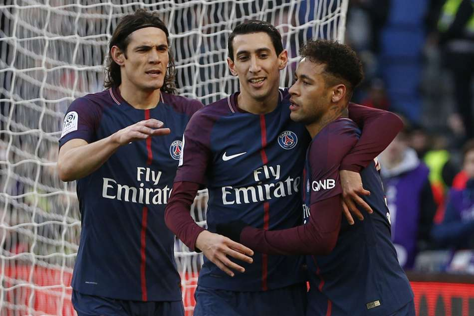 Psg Beat Atletico Madrid