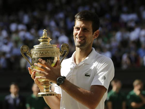 Novak Djokovic Wins Fourth Wimbledon Tittle