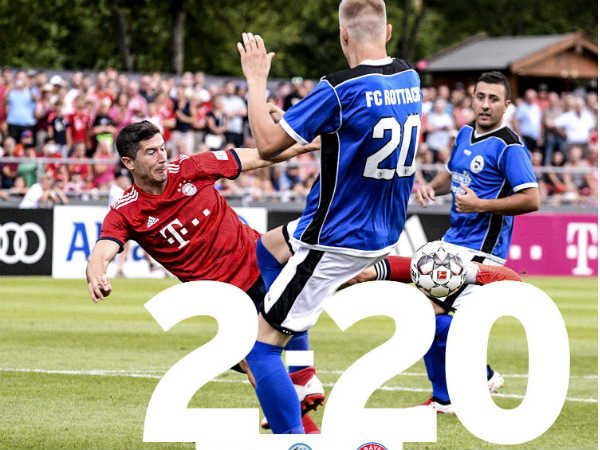 Bayern Munich Scores 20 Goals In Friendly Match