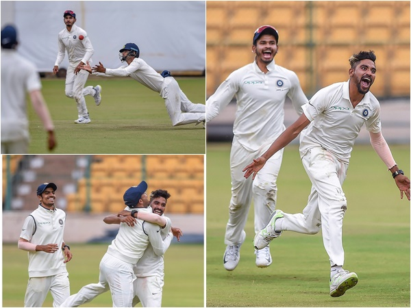First Unofficial Test India A Beat South Africa A