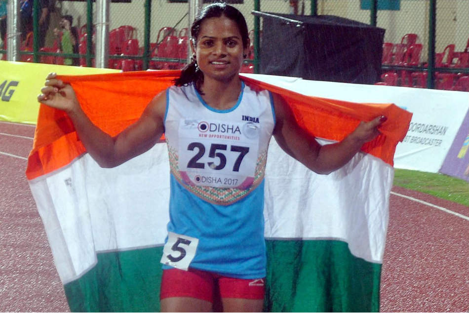 Dutee Chand Clinches Silver For India In 200m Race Final
