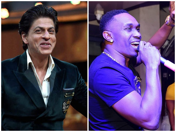 Shah Rukh Khan And Dwayne Bravo Launch A New Song
