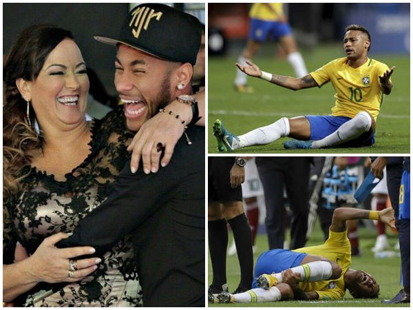 Brazil Star Neymer S Mother Defends Her Son