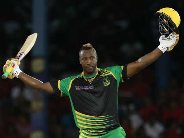 Andre Russell Got Hattrick And Century In Cpl