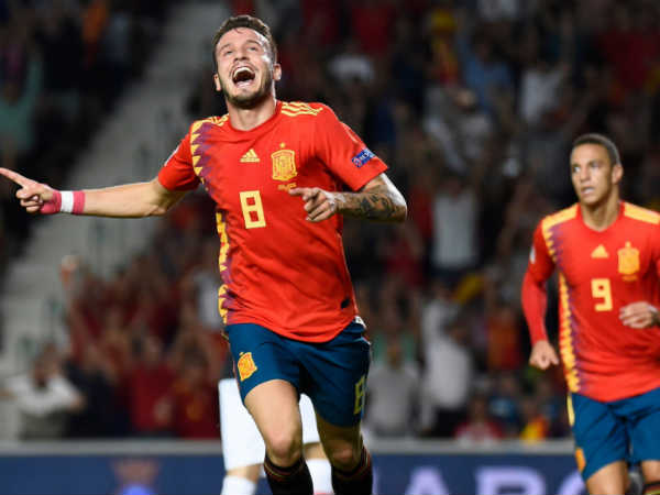 Spain Thrashes Croatia In Uefa Nations League Football Match