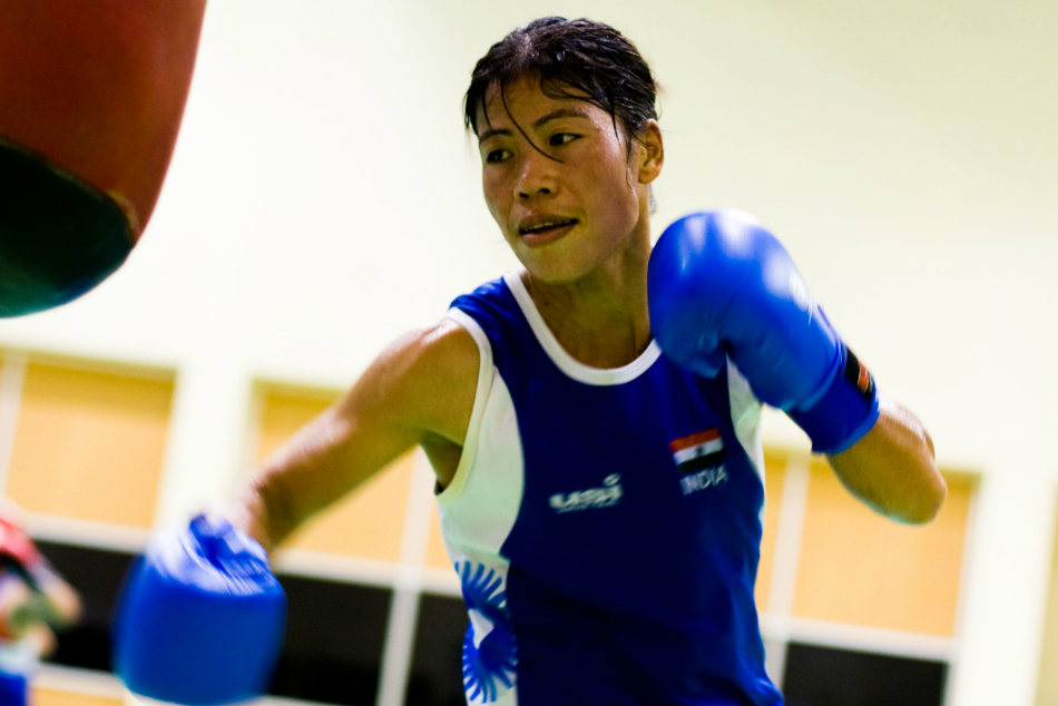 Gold For Mary Kom Manisha Gets Silver