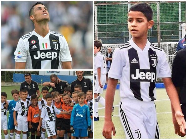Cristiano Ronaldo Junior Scores Four Goals For Juvents On Debut