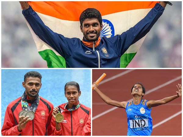 Malayalee Players Who Got Medal In Asian Games