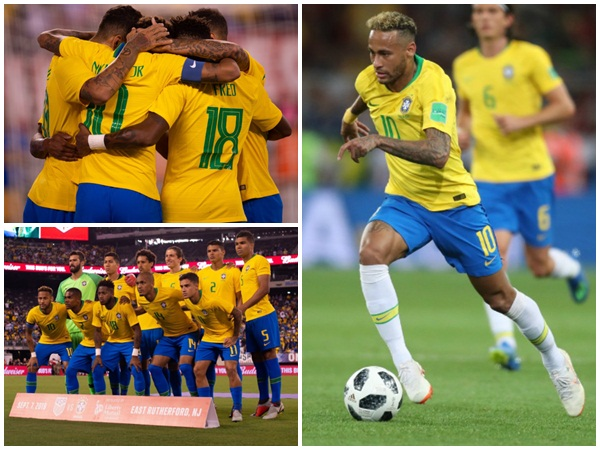 Brazil Beats Usa In Friendly Football Match