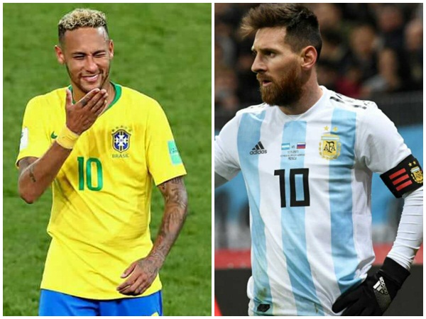Brazil Will Play Against Argentina In Friendly Football Match