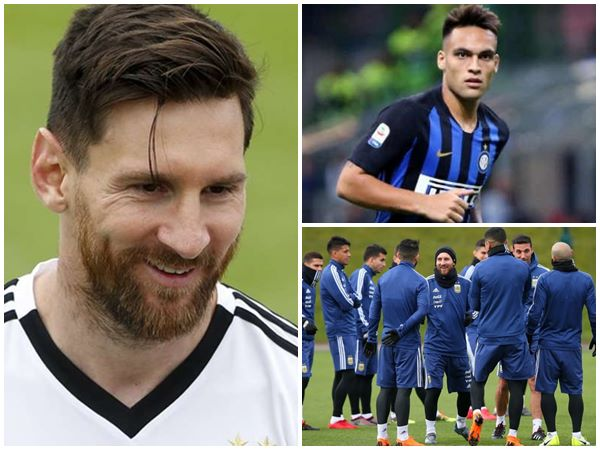 Argentina Need Lionel Messi Says Young Forward Martinez