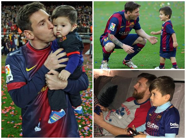 Son Thiago Wont Talk To Him About Defeat Says Messi