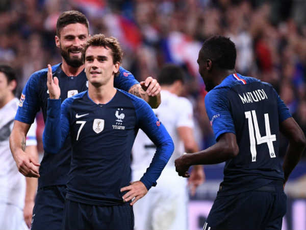 France Beats Germany In Uefa Nations League Football