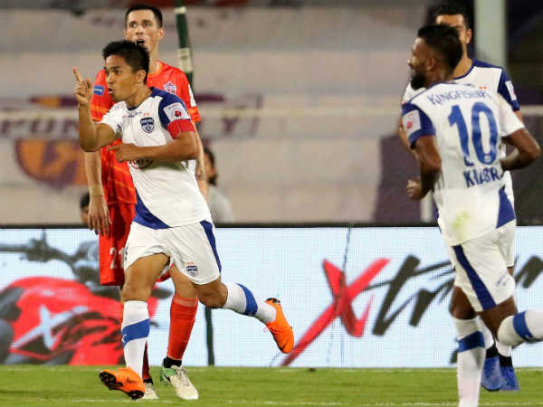 Bengaluru Fc Beats Pune City In Indian Super League Match