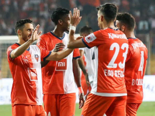 Fc Goa Beats Pune City In Indian Super Leageu Match