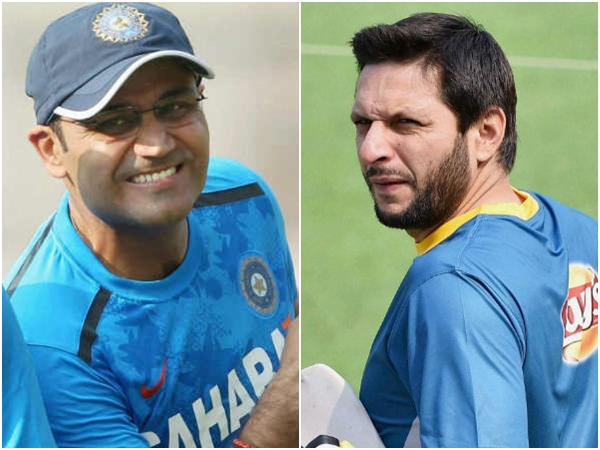 Virender Sehwag Shahid Afridi Toughest Opponents