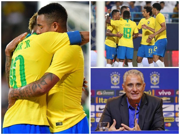 Brazil Beats Saudi Arabia In Friendly Football Match