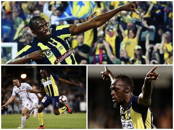Sprint Legend Usain Bolt Scores Two Goals For His Club
