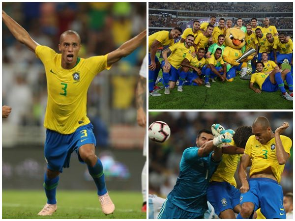 Brazil Beats Arch Rivals Argentina In Classic Friendly Football Match