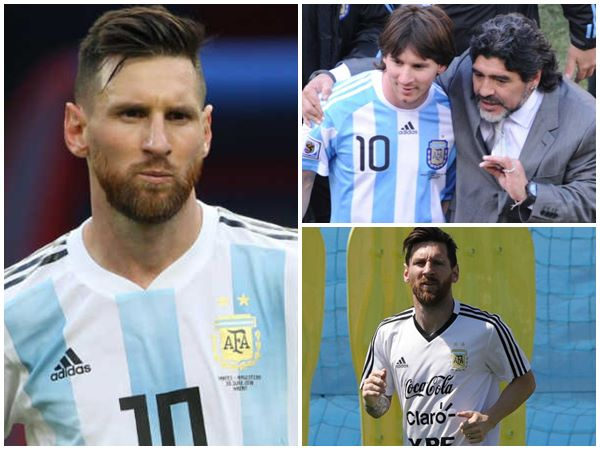 Diego Maradona Takes U Turn On Lionel Messi Remark