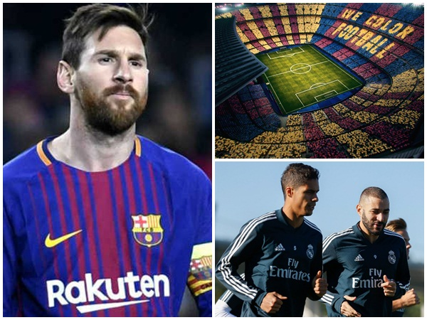 Barcelona Real Madrid El Clasico Football Match Preview
