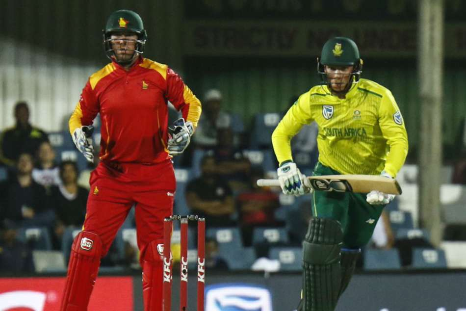 st T20i South Africa Beat Zimbabwe