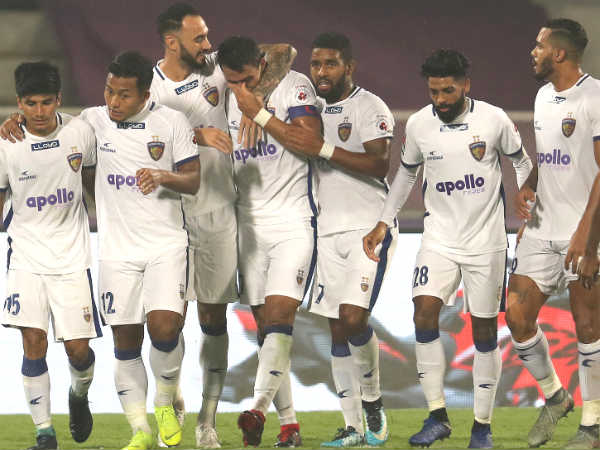 Chennayin Fc Beats Pune City In Indian Super League Match