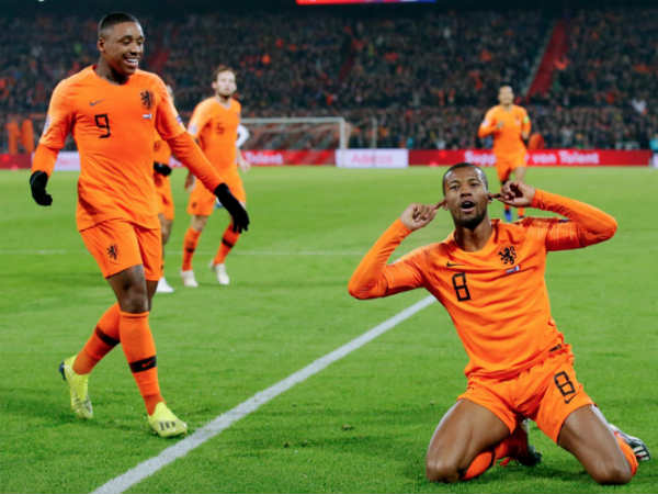 Holland Beats France In Uefa Nations League Football