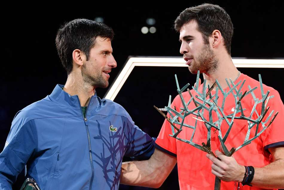 Paris Masters Karen Khachanov Defeats Novak Djokovic In Final