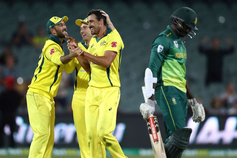 nd Odi Australia Beat South Africa
