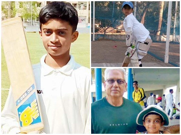 Indian Kid Hits Unbeaten 556 In A Cricket Match