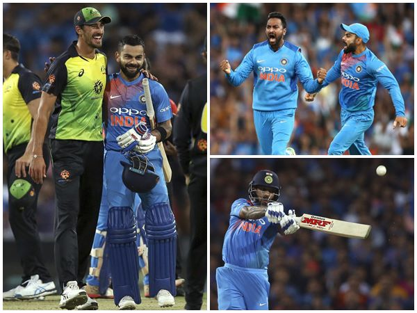 Top Performers In India Australia Twenty 20 Series