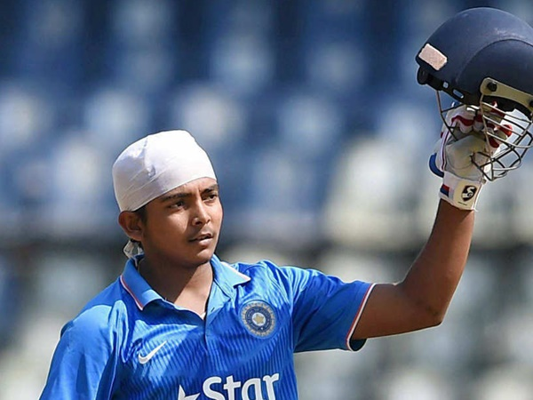 Prithvi Shaw Ruled Out Due To Ankle Injury