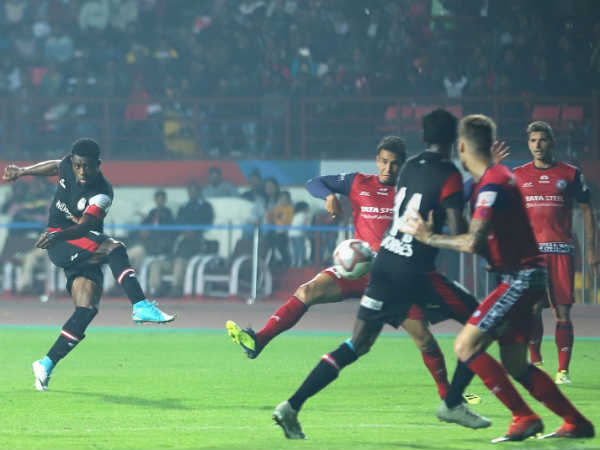 North East United Jamshedpur Fc Indian Super League Match Match Ends In Draw