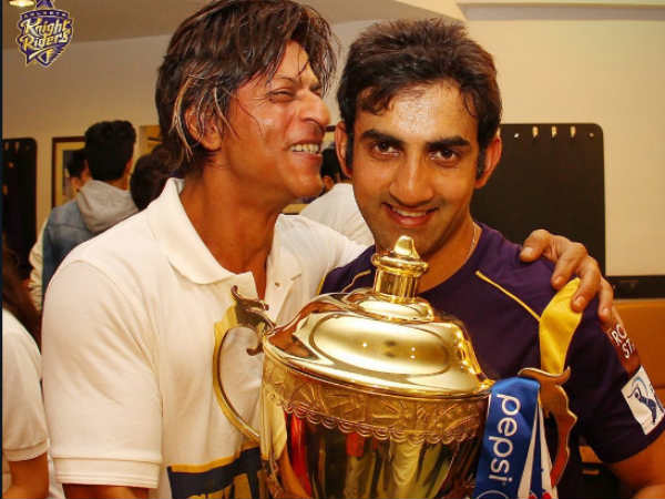 Kkr Co Owner Srk Has A Suggestion For His Former Captain Gambhir